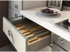 convenient And sensible slender Kitchen Drawers Double Your Kitchen storage
